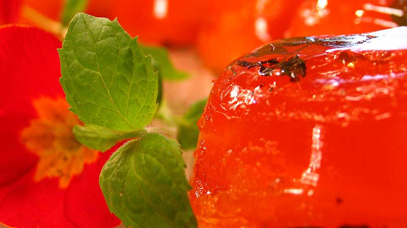 Galaretka cytrusowo – herbaciana