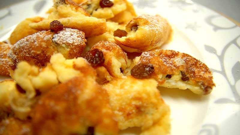 Omlet - cesarskie okruszki