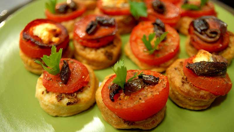 Ciasteczka z pomidorem i musztardą