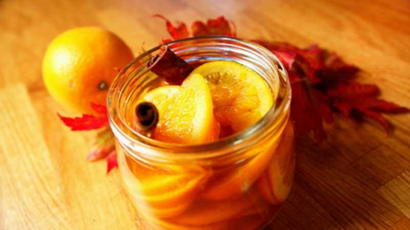 Pomarańcze w syropie