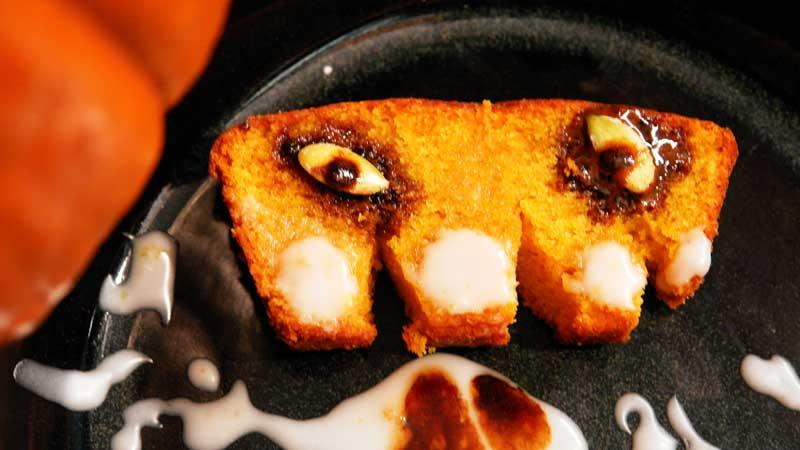 Chleb dyniowo-imbirowy