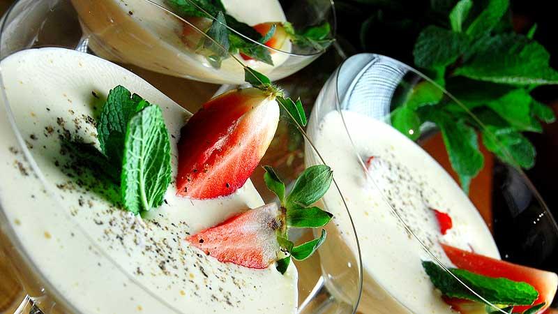 Kogel-mogel z owocami