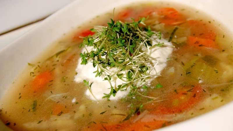 Zupa z nowalijek