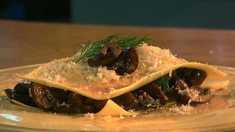 Grzybowe ravioli