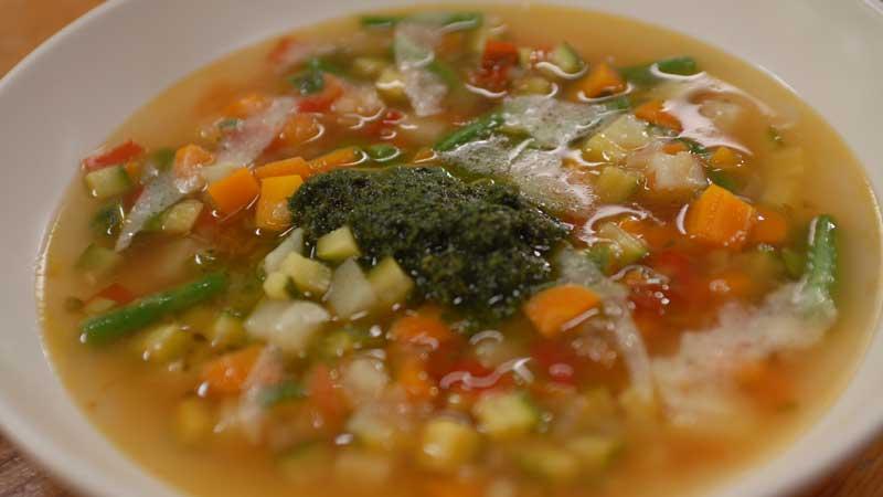 Zupa pistou