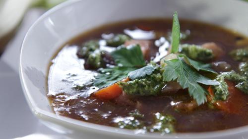 Treściwa zupa z dorsza