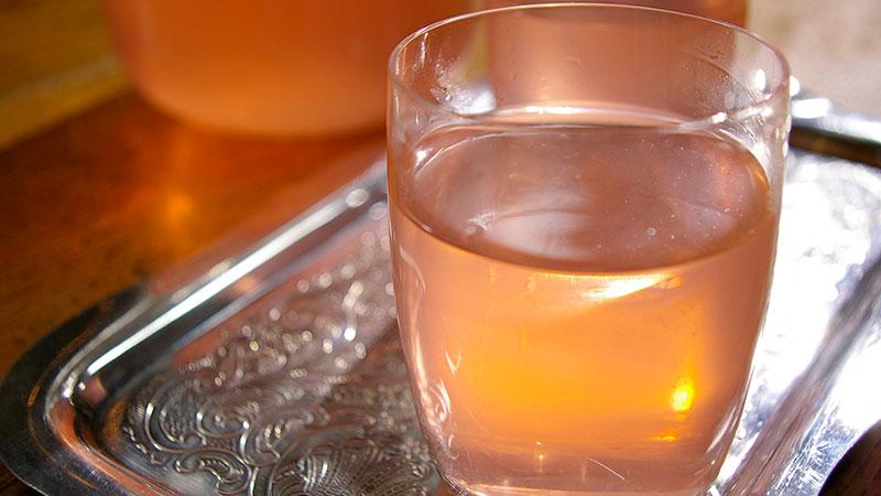 Woda rabarbarowa