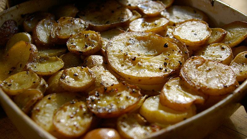 Ziemniaki à la boulangère