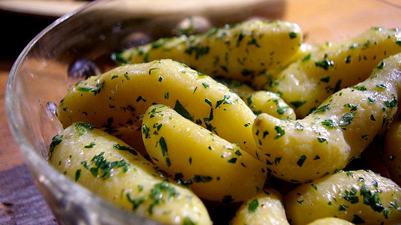 Ziemniaki z pietruszką