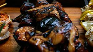 Szaszłyki z kurczakiem i figami