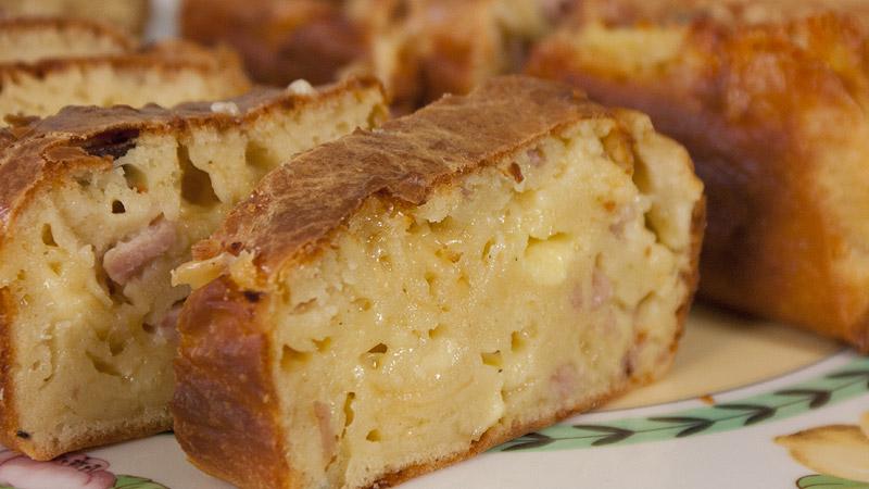 Keks z serem i musztardą