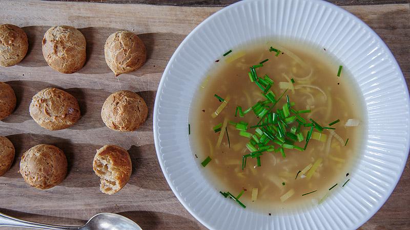 Zupa z prażonej mąki