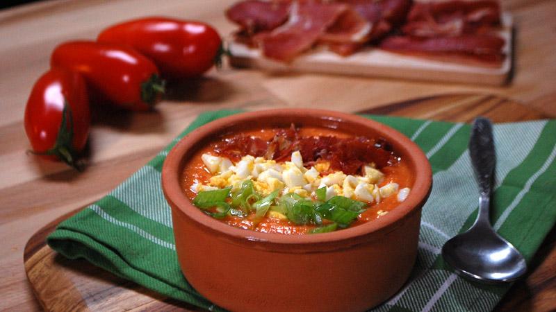 Gazpacho z pomidorów