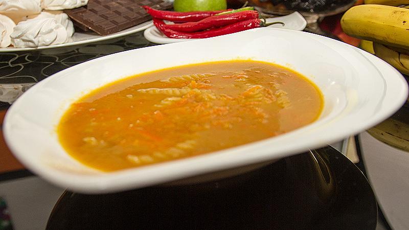 Zupa z pomarańczy