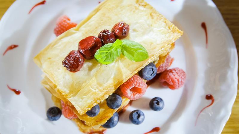 Ciastka z karmelizowanymi orzechami