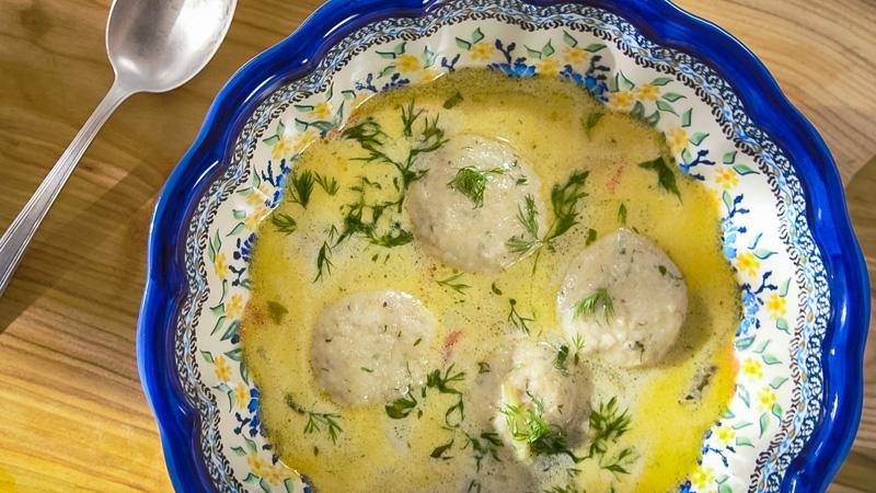 Zupa z jesiotra