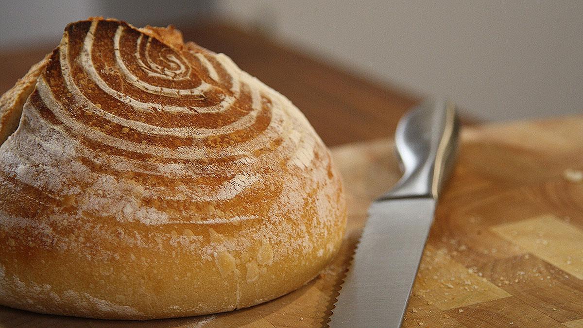 Klasyczny chleb na zakwasie