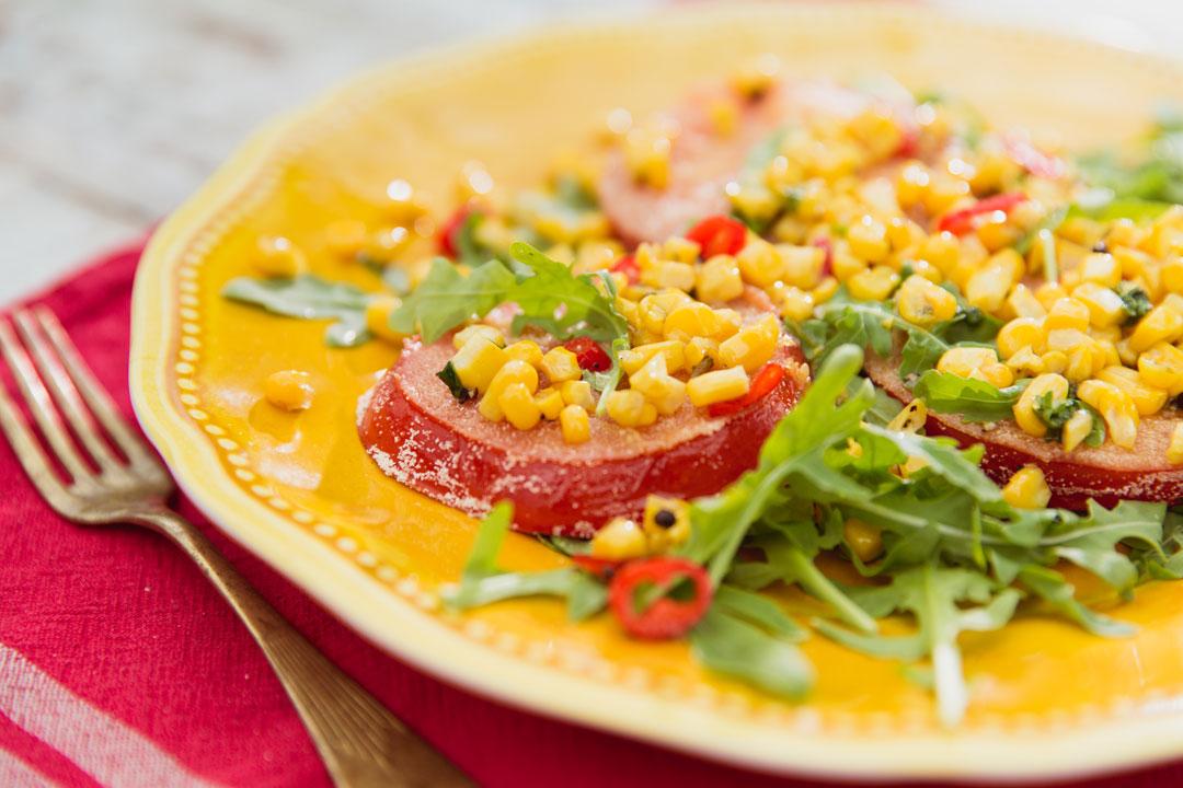Smażone pomidory