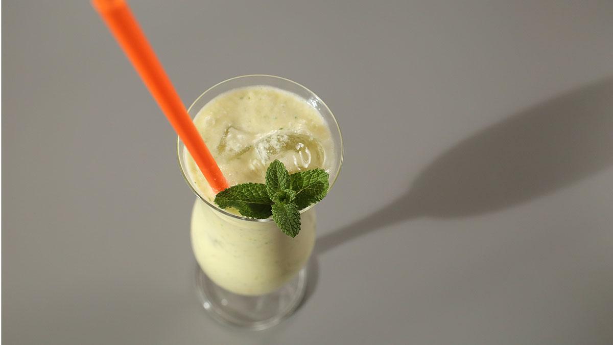 Naturalne zielone smoothies