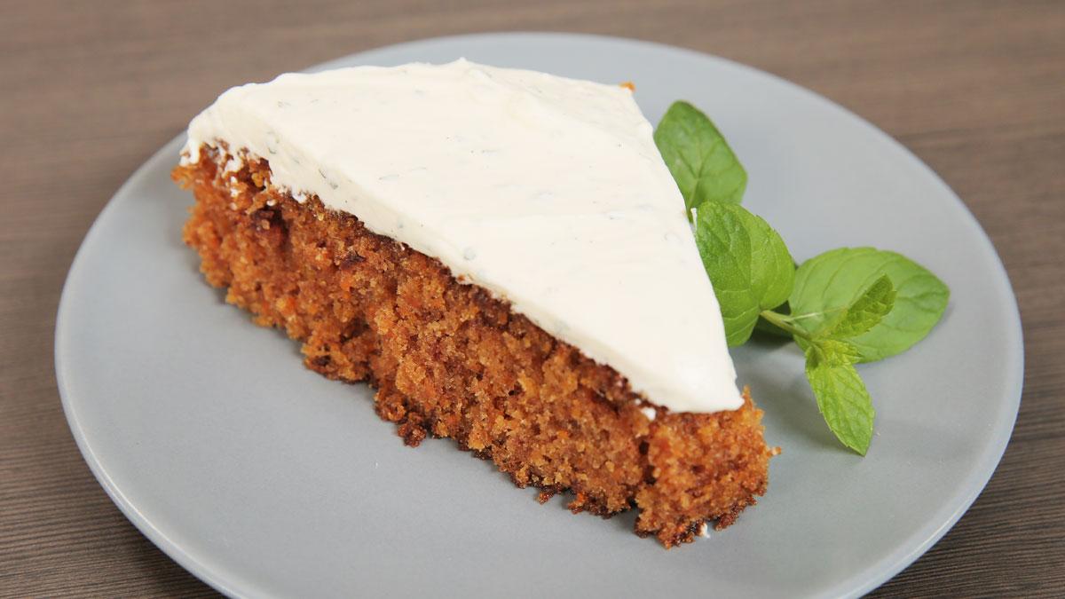 Ciasto marchewkowe z kremem mascarpone