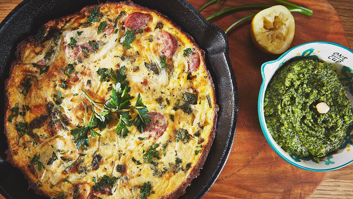 Omlet wielkanocny