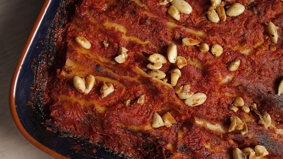 Cannelloni z dynią  i cynamonem