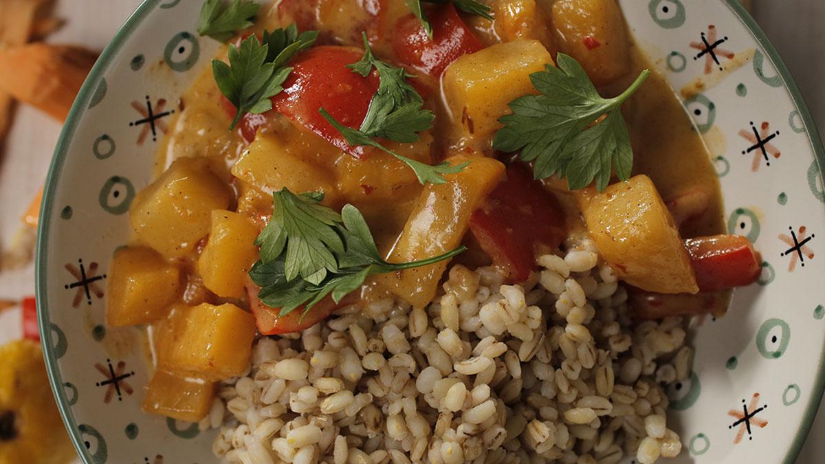 Curry z brukwi