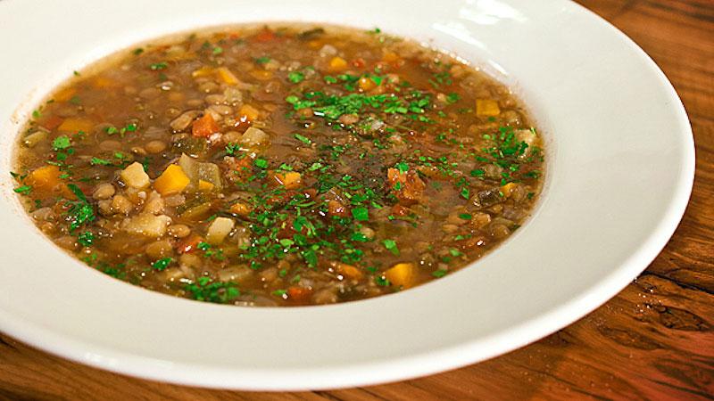 Fakes (grecka zupa z soczewicy)