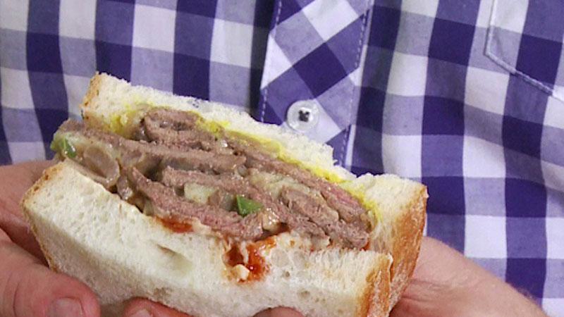 Filadelfijska kanapka ze stekiem