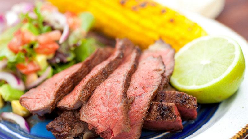 Wołowina w teksańskiej marynacie
