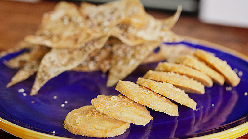 Ciasteczka z parmezanem