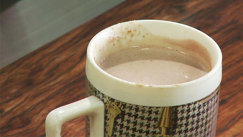 Wieczorne migdałowe kakao