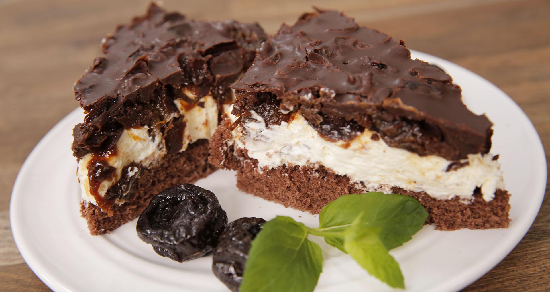 Śliwkowa krajanka w czekoladzie