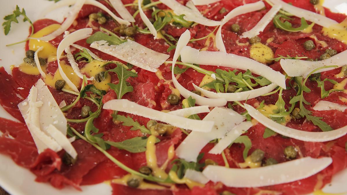 Carpaccio z wołowiny