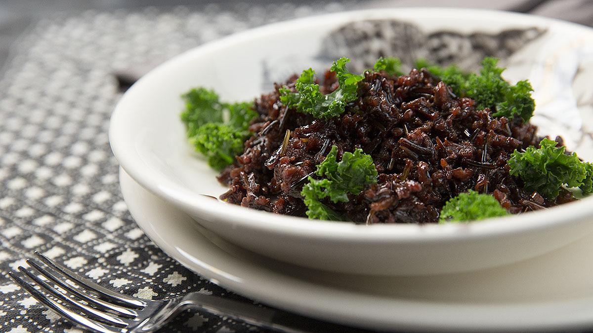 Risotto buraczane z czarnym ryżem
