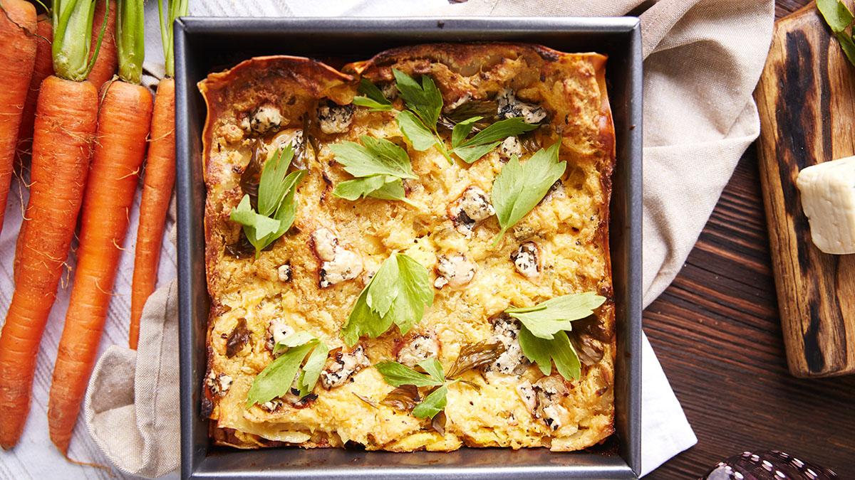 Lasagne z białą kiełbasą