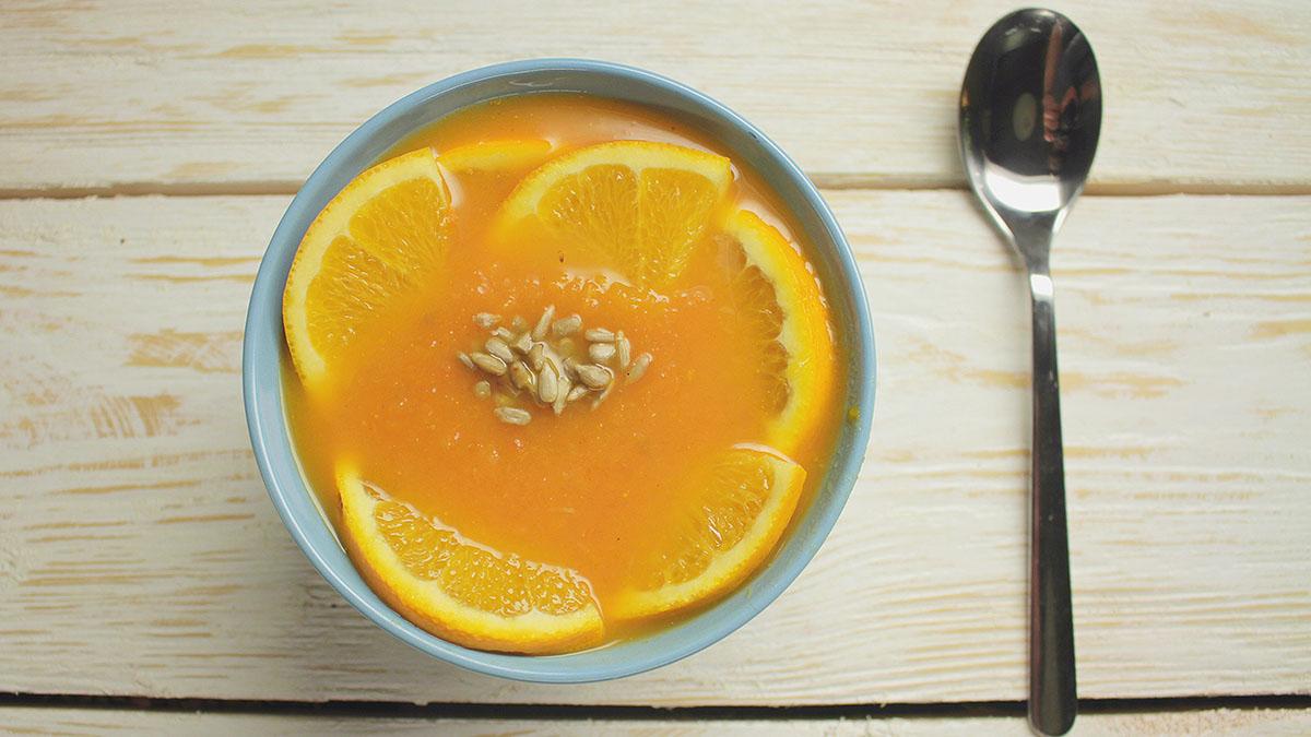 Krem dyniowo-pomarańczowy