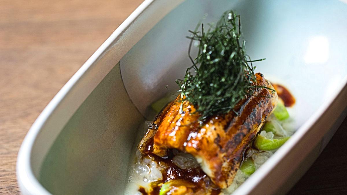 Risotto z węgorzem i foie gras