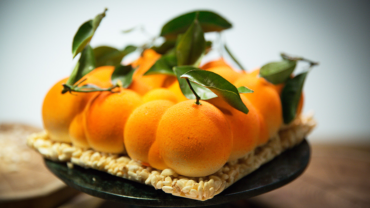 Tort jogurtowy z mandarynkami