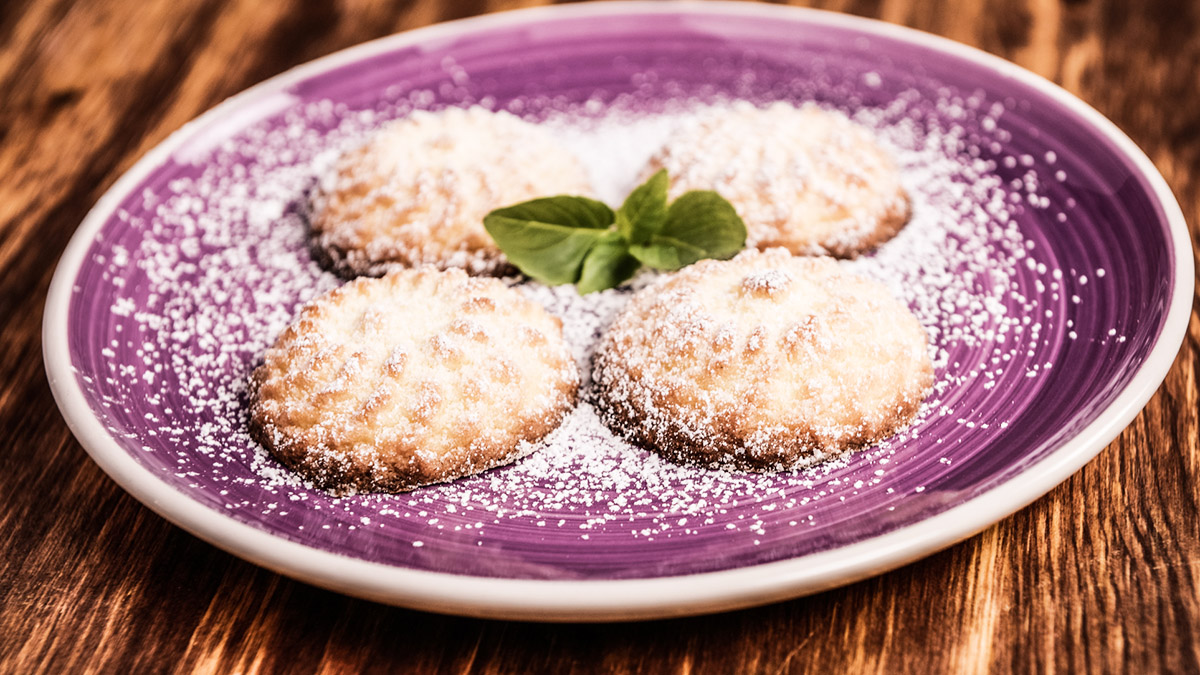 Ciasteczka maślane cytrynowo-waniliowe