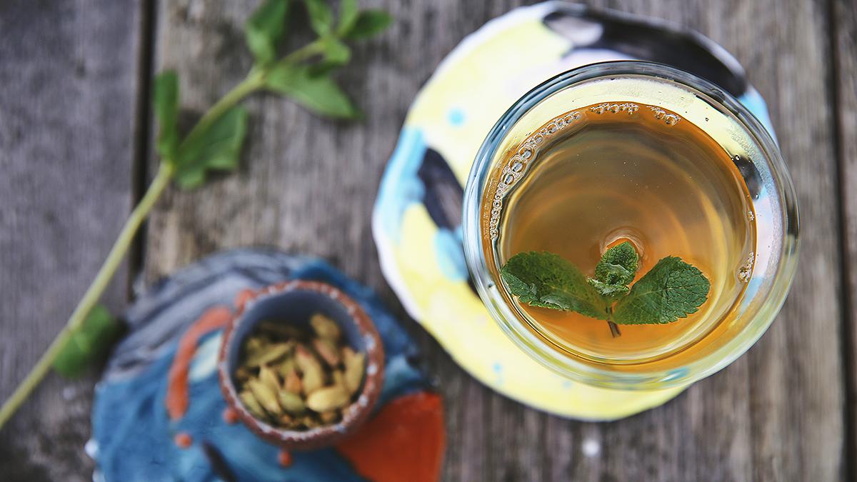 Marokańska herbata z kardamomem