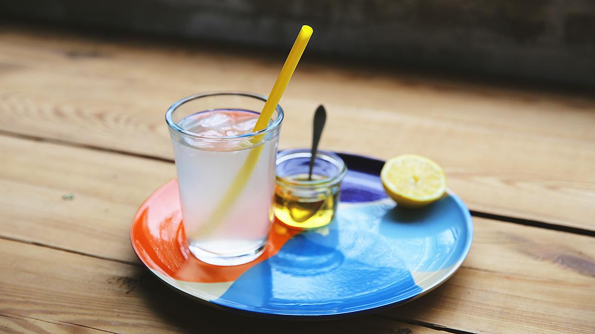 Lemoniada z trawy cytrynowej i imbiru