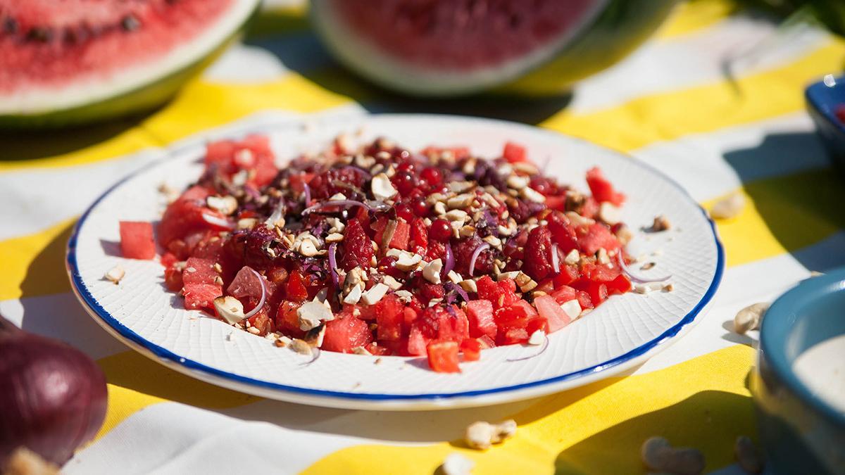 Tatar z owoców
