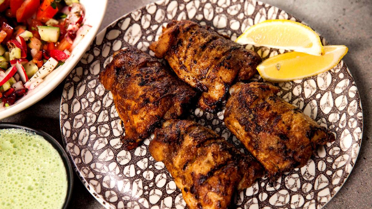 Kurczak barbecue w stylu tandoori