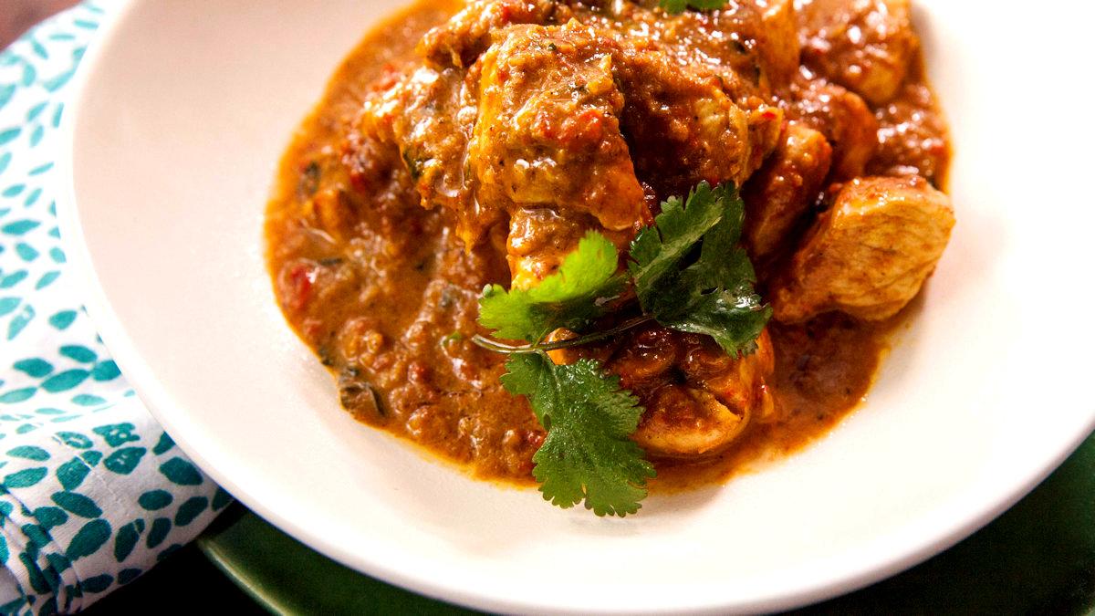 5-minutowe curry z kurczaka