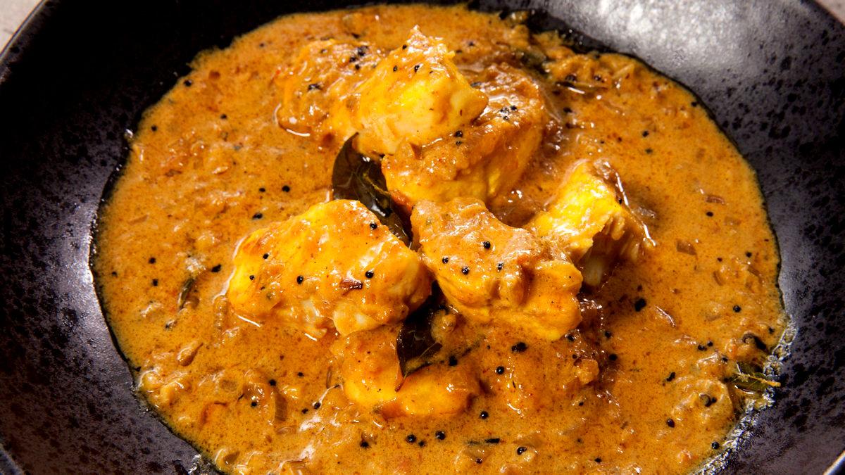 Curry rybne z Kerali