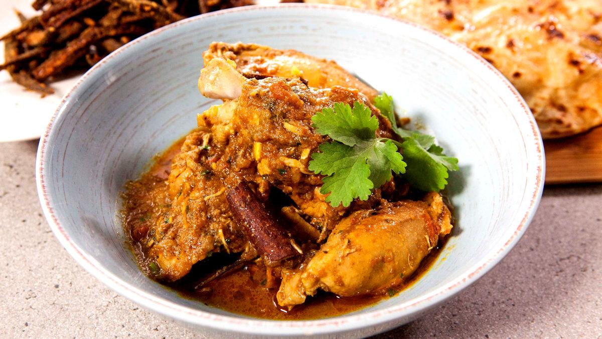 Curry z kurczaka z Pendżabu