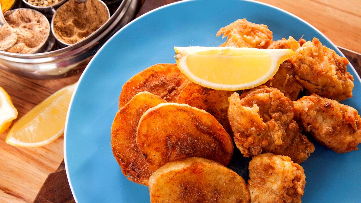Ryba w cieście z Amritsaru