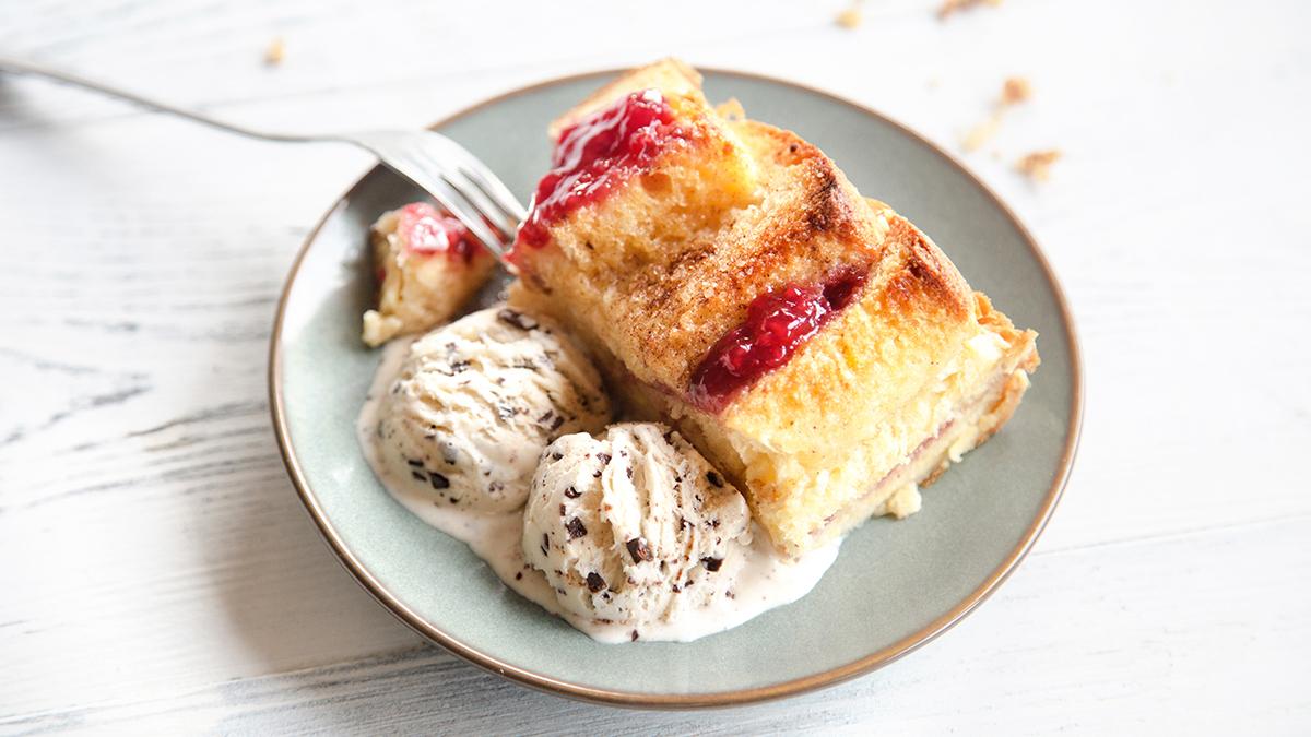 Pudding z czerstwej babki drożdżowej