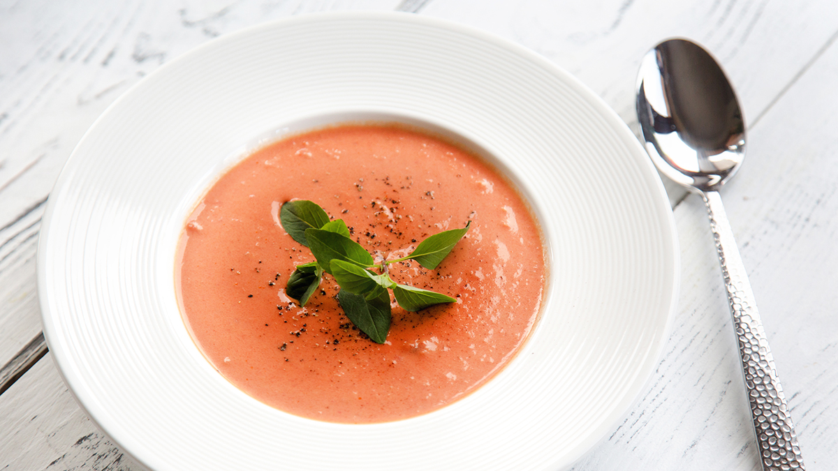 Ekspresowa zupa pomidorowo-kokosowa